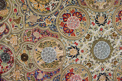Oostelijk tapijt Royalty-vrije Stock Foto's