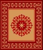 Oostelijk tapijt royalty-vrije illustratie