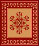 Oostelijk tapijt stock illustratie