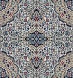 Oostelijk tapijt met traditioneel etnisch decor Stock Foto's