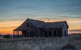Oostelijk Washington Abandoned House stock foto
