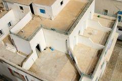 Oostelijke dak hoogste architectuur - Tunesië Royalty-vrije Stock Foto