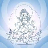 Oostelijke god Royalty-vrije Stock Afbeeldingen