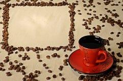 Oostelijke kop van koffie Stock Fotografie