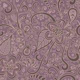 Oosten-bloemen-patroon stock illustratie