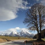 Oostenrijk alpen Royalty-vrije Stock Foto's