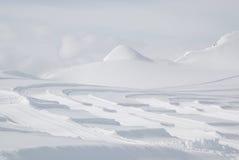 Oostenrijk. Alpen. De toevlucht van de de gletsjerski van Kaprun royalty-vrije stock afbeelding