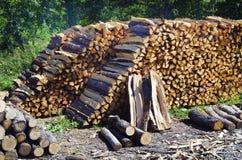 Oostenrijk, Forest Industry stock afbeeldingen