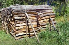 Oostenrijk, Forest Industry stock fotografie