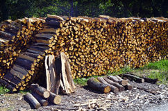 Oostenrijk, Forest Industry royalty-vrije stock afbeeldingen