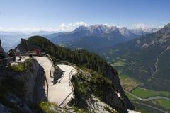 Oostenrijk: het terras Stock Foto