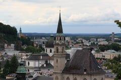 Oostenrijk, Salzburg, jaar 2011 Royalty-vrije Stock Afbeeldingen
