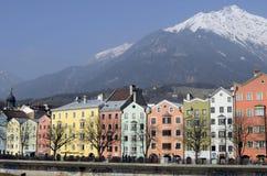 Oostenrijk, Tirol, Innsbruck Royalty-vrije Stock Fotografie