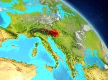 Oostenrijk van baan royalty-vrije illustratie