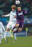 Oostenrijk versus België Zenitst. petersburg Royalty-vrije Stock Foto's