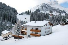 Oostenrijks Chalet stock foto's