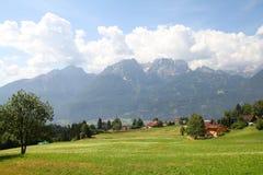 Oostenrijks Dolomiet royalty-vrije stock afbeeldingen