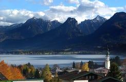 Oostenrijks dorp Stock Fotografie