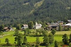 Oostenrijks dorp Royalty-vrije Stock Foto's