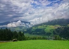 Oostenrijks platteland Stock Foto