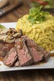 Oostenrijks uilapje vlees stock afbeelding