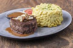 Oostenrijks uilapje vlees royalty-vrije stock foto