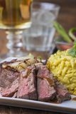 Oostenrijks uilapje vlees stock foto's