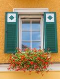 Oostenrijks venster Stock Afbeelding