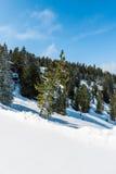 Oostenrijkse Alpen in de winter Royalty-vrije Stock Afbeeldingen