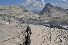 Oostenrijkse Alpen - Totalisators Gebirge Stock Foto's