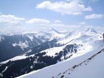 Oostenrijkse bergen Stock Foto's