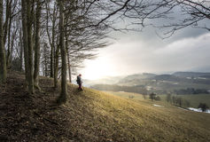 Oostenrijkse heuvels Royalty-vrije Stock Foto's