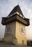 Oostenrijkse klok Stock Foto's
