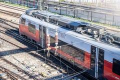 Oostenrijkse trein royalty-vrije stock afbeelding