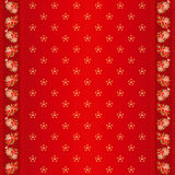 Oosters Chinees naadloos patroon en overladen frame Stock Fotografie