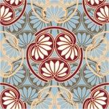 Oosters - Japanner - Naadloos Patroon Royalty-vrije Stock Afbeelding