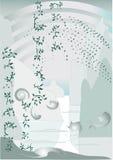 Oosters Landschap Royalty-vrije Stock Afbeelding