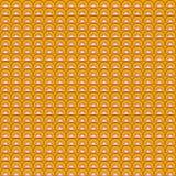 Oosters motief als achtergrond met kleurrijke naadloze halve cirkels, Royalty-vrije Stock Fotografie