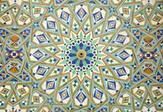 Oosters mozaïek in Casablanca Royalty-vrije Stock Foto's