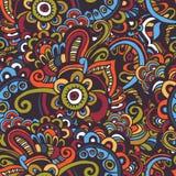 Oosters naadloos patroon Stock Afbeelding