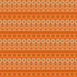 Oosters naadloos patroondamast arabesque en bloemenelementen t Stock Afbeeldingen