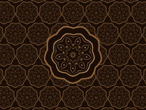 Oosters Ornament Vectorpatroon vector illustratie