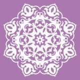 Oosters patroon met arabesques en bloemenelementen Stock Afbeelding