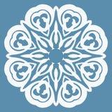 Oosters patroon met arabesques en bloemenelementen Stock Afbeeldingen