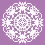Oosters patroon met arabesques en bloemenelementen Royalty-vrije Stock Afbeelding