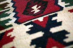 Oosters tapijt Stock Afbeeldingen