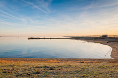 Free Oosterschelde Lough In The Low Morning Sun Stock Image - 23070731