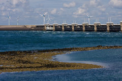 Oosterscheldekering in Zeeland, Netherlands Royalty Free Stock Photos
