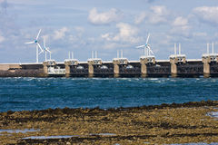 Oosterscheldekering in Zeeland, Netherlands Stock Photography