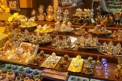 Oosterse bazaar Stock Afbeelding